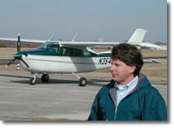 Crown Aviation Art Ray Charter Pilot Springdale Municipal Airport AR